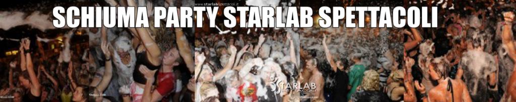Schiuma party starlab spettacoli for Starlab spettacoli
