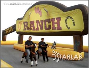 Ranch con animaletti cavalcabili novit starlab spettacoli for Piccoli progetti di ranch