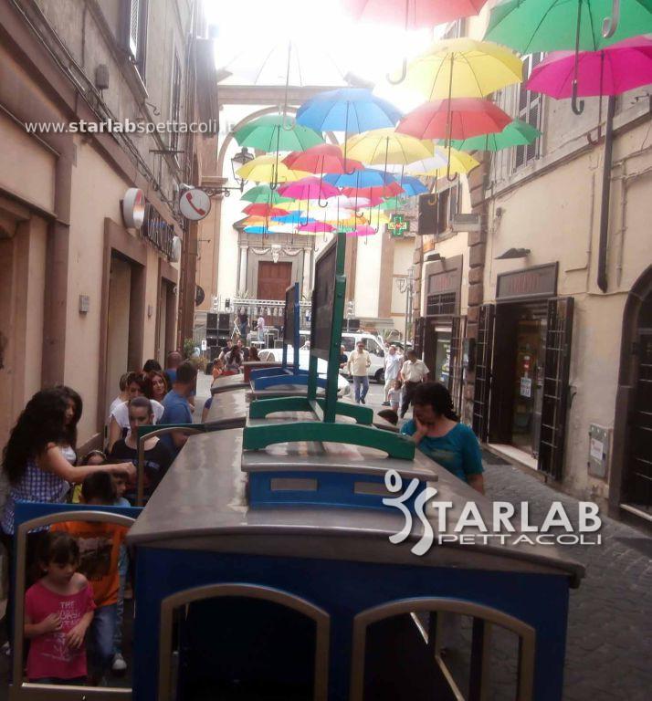 Noleggio trenino elettrico starlab spettacoli for Starlab spettacoli