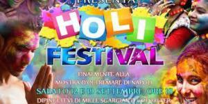 Napoli 12.09 Holi Festival