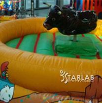 Bisonte e toro meccanico starlab spettacoli for Starlab spettacoli