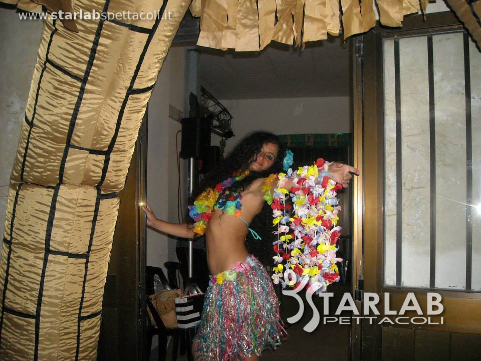 Festa hawaiana anche con palme luminose starlab spettacoli for Starlab spettacoli